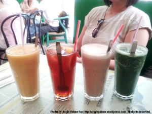Bookworm Cafe power shakes