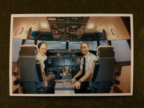 Flying a Boeing 737 in Hong Kong